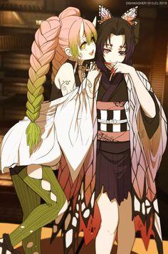 Read Kimetsu No Yaiba / Demon slayer full Manga chapters in English online! Anime Angel, M Anime, Chica Anime Manga, Fanarts Anime, Anime Demon, Otaku Anime, Anime Art Girl, Kawaii Anime, Anime Characters