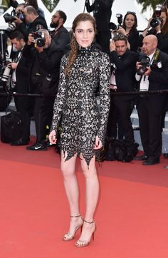 "Maud Wyler attends the ""Slack Bay (Ma Loute)"" premiere during the 69th annual Cannes Film Festival at the Palais des Festivals on May 13, 2016 in Cannes, France."