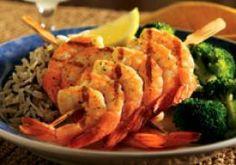 Red Lobster Restaurant Copycat Recipes: Garlic Grilled Shrimp