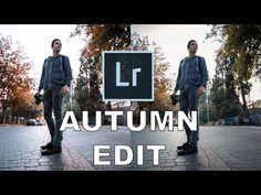 Autumn EDIT in Lightroom CC - YouTube