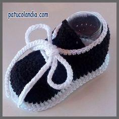 Crochet Pattern Baby Boy Booties