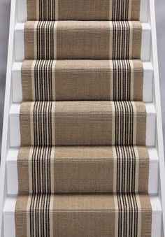 Sisal Stair Runner Tetouan is a sleek modern carpet with hidden depth, To adopt a piece of Morocco for your home click here. Great prices, Fast Delivery #CarpetRunners