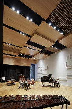 Galeria - Centro de Música Victor McMahon / Baldasso Cortese Architects - 2
