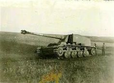 """Germany's 128mm anti-tank gun.... A true contender on the battlefield. Know as the """"Stubborn Emil"""", it was based on the Henschel VK30.1 chassis. The main gun could traverse 7degrees to each side, elevate 10degrees, & lower -15 degrees. This armored vehicle carried 15 rounds for its massive main gun!! Top speed was 16mph, only two of these monsters were ever built..."""
