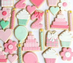 Bows 'N Frills Birthday Cookie Collection | Flickr - Photo Sharing!