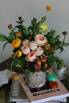 Floral arrangement by Sachi Rose: luxury floral design for the wild at heart.