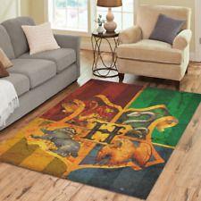 Hot Selling Mat Custom Harry Potter Rugs Area Rug Decorative Floor
