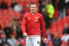 Manchester United captain Wayne Rooney has been dropped to the bench for the visit of Premier League champions Leicester to Old Trafford on Saturday.