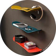 skate-board shelf (Serendipity).