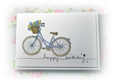 hero arts stamp bicycle - Google Search