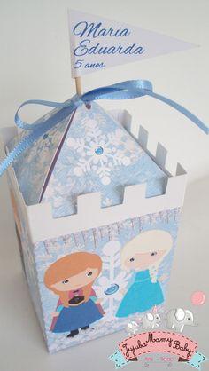 Frozen Castelo Lembrancinha | Jujuba Mamy Baby | Elo7
