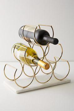 Anthropologie Brass Wine Rack #ad #AnthroFave #AnthroRegistry Anthropologie