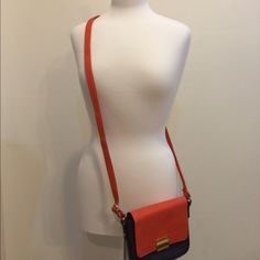 Geometric Style Crossbody Bag Cute crossbody bag. Tory inspired. Geometric feature of two different colors. Perfect for any outfit. Bags Crossbody Bags