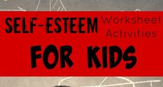 You can learn a lot about a child when you do self-esteem worksheet activities for kids. Check out our worksheets!