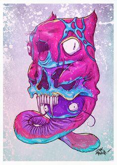 Character Art, Character Design, Street Art, Psy Art, Dope Art, Psychedelic Art, Illustration Art, Illustrations, Art Inspo