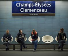 Metro station in Paris Metro Paris, Arrondissement, Triomphe, Paris City, Metro Station, France, Places Of Interest, Trains, Waiting