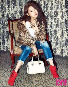 4Minute Gayoon - BNT International December Issue '13