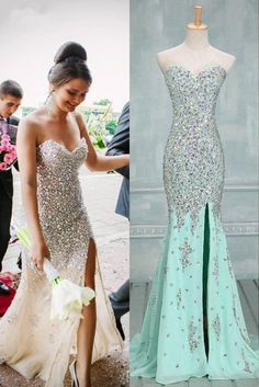 Sweetheart Beading Handmade Prom Dress,Long Prom Dresses,Prom Dresses,Evening Dress, Prom Gowns, Formal Women Dress,prom dress