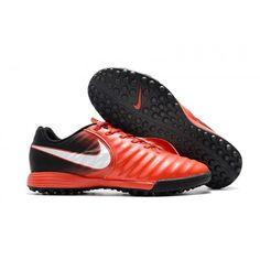 hot sale online 41b86 c2aa7 Chaussure Crampon Nike Tiempo Ligera IV TF Homme Vente De Rouge Blanche pas  cher
