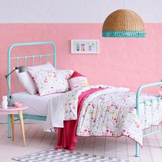 Adairs Kids Girls Sweet Life -I love the aqua bed Kids Bedroom Dream, Adairs Kids, Aqua Bedding, Quilt Cover Sets, Little Girl Rooms, Sweet Life, Kids Online, Kids Girls, Furniture