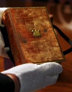 ABRAHAM LINCOLN'S FAMILY BIBLE (aka the Lincoln Family Bible)