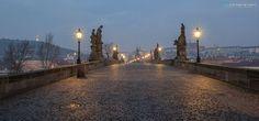 Ráno na mostě liduprázdném - Foto: Michal Fic