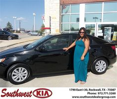 Congratulations to Karl Stephens on the 2013 #KIA #Forte