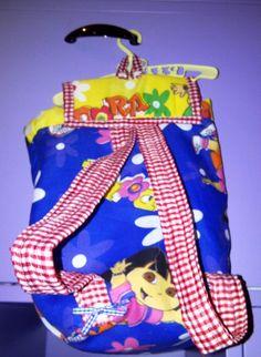 Gracie's Dora bag (back)