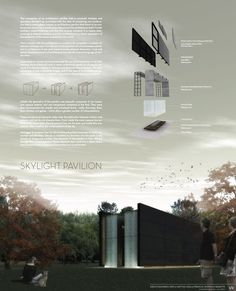 Sky Light Pavilion / Nimbu,competition panel 01