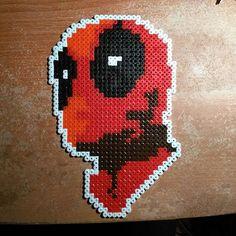Deadpool hama beads by therealt1m8er