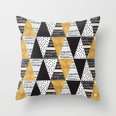 Black Golden Geometric Cushion Cover Peach Skin Pineapple Sofa Modern Decorative Pillowcases Office Living Room Home Decor - affordable home livingroom farmhouse decoration ideas Decorative Pillow Cases, Decorative Cushions, Sleep Apnoea, Throw Pillow Covers, Throw Pillows, Geometric Cushions, Thyroid Problems, Skin Care Regimen, Scrappy Quilts