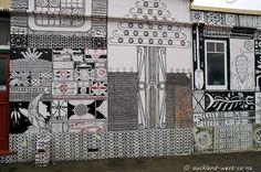 Big Mural (John Pule) Maori Designs, Big, Painting, Contemporary Art, Artist, Painting Art, Paintings, Painted Canvas, Drawings