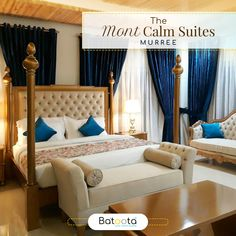The Mont Calm Suites in Murree are excellent suites with luxurious settings and spacious rooms. Book your with Batoota and get the best one in the lot. Pakistan Hotels, The Mont, Find Hotels, Beautiful Scenery, Middle, Calm, Detail, Luxury, Book