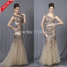 11.11 Shopping Festival   Find More Prom Dresses Information about Laberry  2014 New Bling Bling Luxury Colorful Beading Mermaid Long Prom Dress,High Quality Prom Dresses from CHOIYES   LABERRY Official Store on Aliexpress.com