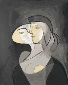 Pablo Picasso – Marie-Thérèse, Face and Profile, 1931