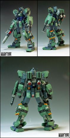 Custom Build: 1/100 FA-78-3 Full Armor Gundam (Heavy Type Ver.) - Gundam Kits Collection News and Reviews