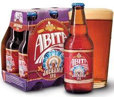 Cerveja Abita Jockamo IPA, estilo India Pale Ale (IPA), produzida por Abita Brewing Company, Estados Unidos. 6.5% ABV de álcool.