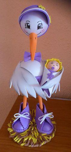 fofucha cigüeña www.facebook.com/bbcreativeshop.com