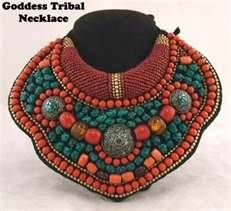 Image detail for -Tribal Gypsy Jewelry: Goddess Tribal Necklace