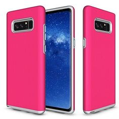 Samsung Galaxy Note 8 Case Full Body Protective Rugged Shockproof Non Slip Pink for sale online Galaxy Note Cases, Samsung Galaxy Note 8, Phone Cover, Full Body, Galaxies, All In One, Locker Storage, Hot Pink, Notes