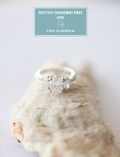 Prettiest Engagement Rings Ever! A collection from Style Me Pretty's Gallery of  Engagement Rings... just in case you're almost there ;)  See more right here -- http://www.StyleMePretty.com/2014/02/04/prettiest-engagement-rings-ever/ PS... We'd LOVE to hear your favorites!