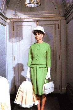 "Audrey Hepburn in ""Paris When it Sizzles"""