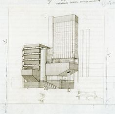 James Stirling _ Leicester Engineering building