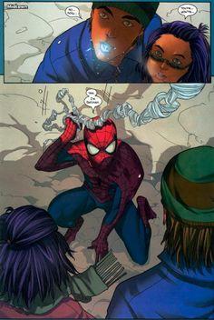 Yes, I'm Batman. Love snarky Spiderman