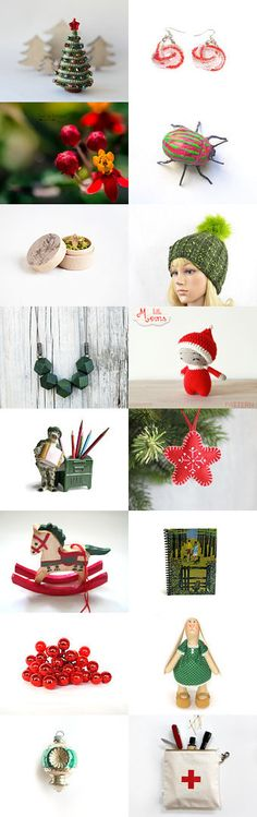 give someone a merry LITTLE Christmas! by Efi on Etsy--Pinned with TreasuryPin.com