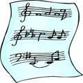 Free Printable Music, Printable Sheet Music, Piano, Clarinet, Flute, Printable Guitar Music - FreePrintable.com