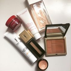 #bare#essentials#clarins#ysl#chanel#beauty#makeup#mylove