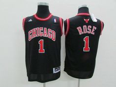 NBA Youth #1 black jersey