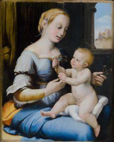 La Madonna Esterházy di Raffaello   Roma, Gallerie Nazionali di Arte Antica - http://www.canalearte.tv/news/la-madonna-esterhazy-raffaello-roma-gallerie-nazionali-arte-antica/