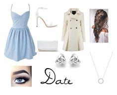 """""""Date"""" by christieveg on Polyvore featuring Zara, GUESS, Georgini and Michael Kors"""